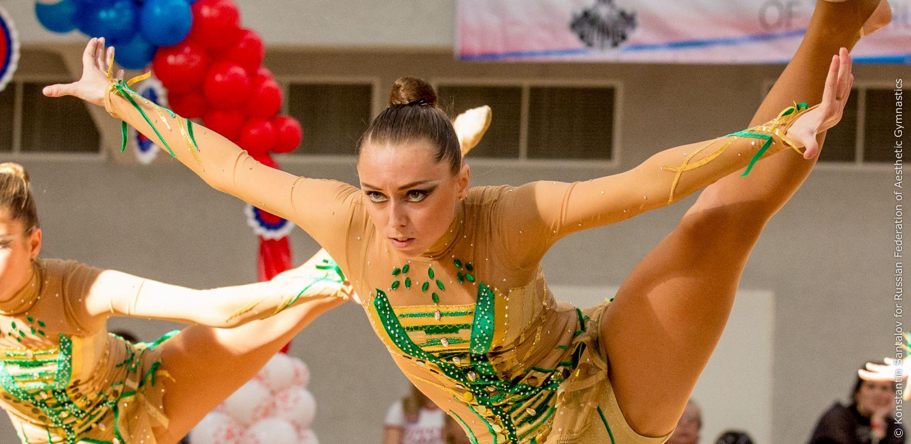 Прическа для художественной гимнастики фото