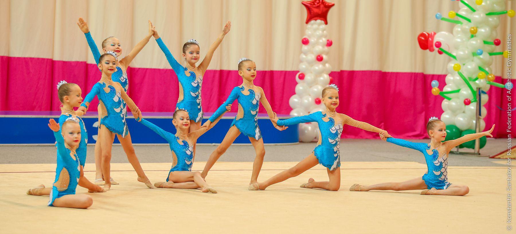 Гимнастика дети 6 лет фото